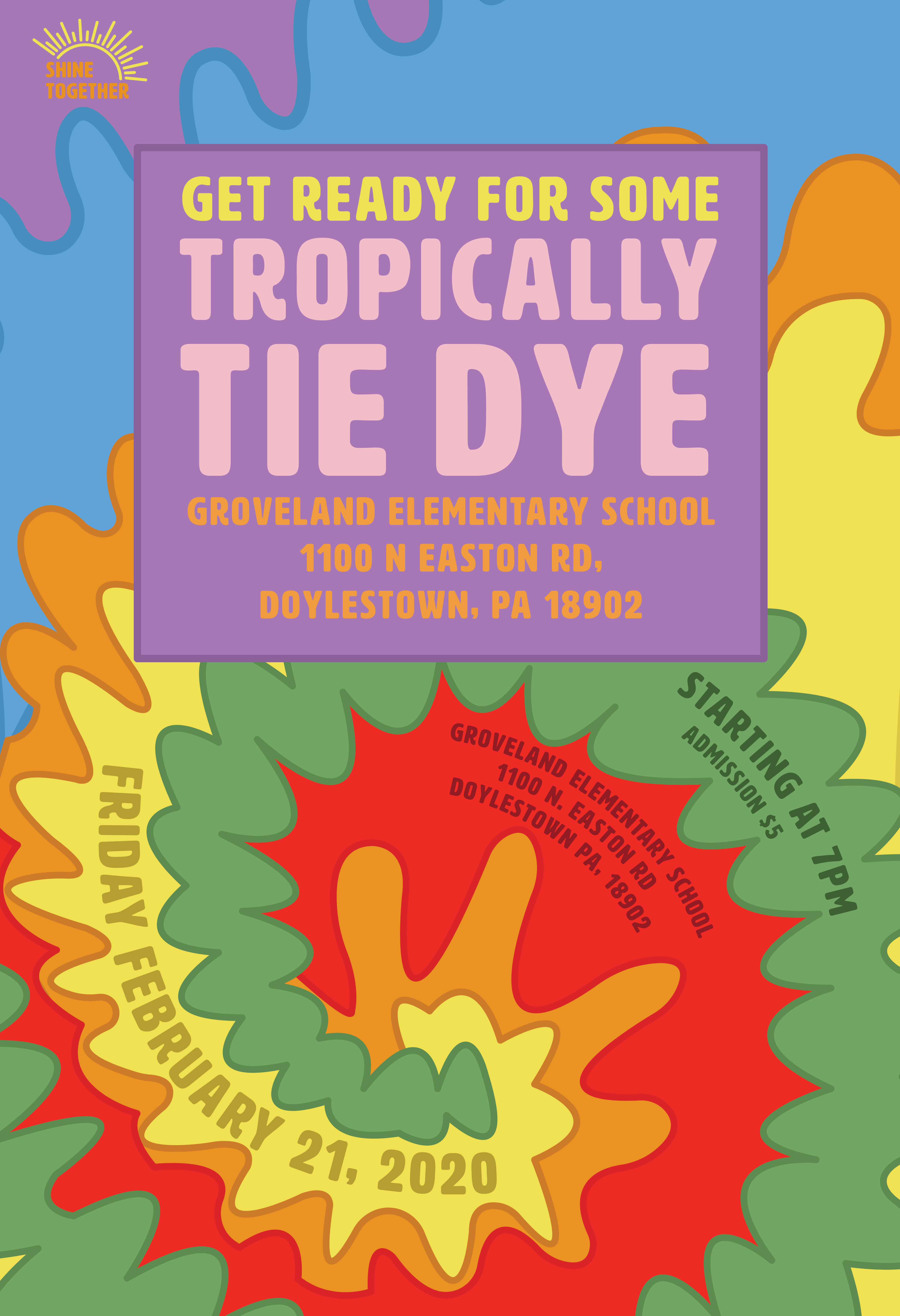 tropicall tie dye poster2-05